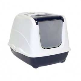 Flip Kapalı Kedi Tuvaleti Lacivert