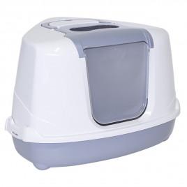 Flip Köşeli Kedi Tuvaleti Gri