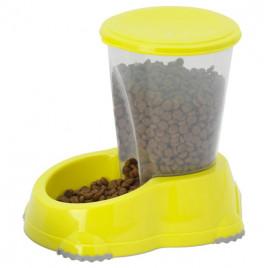 Kedi Ve Köpek Snacker Mama Kabı Sarı 1,5 Lt