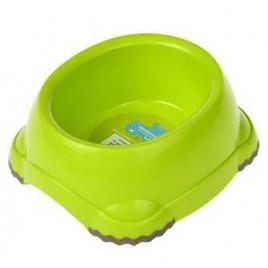 Köpek Plastik Mama ve Su Kabı Sarı 735 Ml