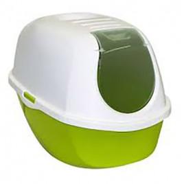 Mega Smart Kapalı Kedi Tuvaleti Yeşil 46x66x49 Cm