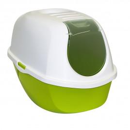Smart Kapalı Kedi Tuvaleti Yeşil 53 Cm