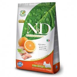 N & D Grain Free 7 Kg Adult Mini Fish & Orange