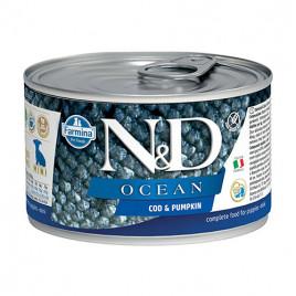 N & D Ocean Morina Balığı Balkabağı Yavru Köpek Konservesi 6x140 Gr
