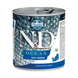 N & D Ocean Morina Balığı Balkabağı Yavru Köpek Konservesi 6x285 Gr