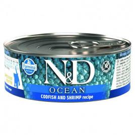N & D Ocean Morina Balığı,Karides,Balkabağı 6x80gr Yavru Kedi Konserve