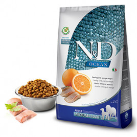 N & D Ocean 2,5 Kg Ringa Balık&Portakal Tahılsız