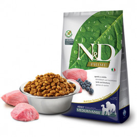 N & D Prime 12 Kg Lamb & Blueberry Adult Medium & Maxi