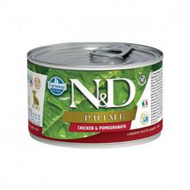 N & D Prime Tavuk Nar Yavru Köpek Konservesi 6x140 Gr