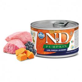 N & D Pumpkin Kuzu Yaban Mersini Yavru Köpek Konservesi 6x140 Gr