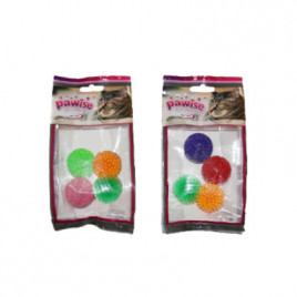 Glitter Ball 4 Adet Kedi Topu