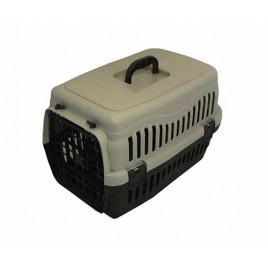 Küçük Irk Köpek Taşıma Çantası Gri 60 Cm