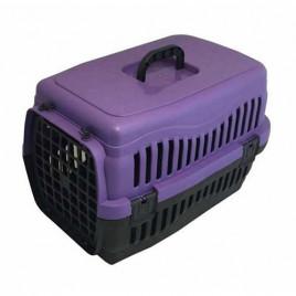 Küçük Irk Köpek Taşıma Çantası Mor 60 Cm