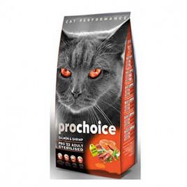 Pro33 Adult Cat Salmon&Karides Kısırlaştırılmış Kedi Maması 2 Kg