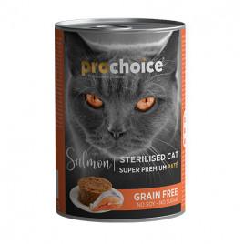 Sterilised Somonlu Kısırlaştırılmış Kedi Konservesi 12x400 Gr