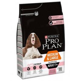 Pro Plan 3 Kg Medium and Large Adult 7+ Sensitive Skin Salmon