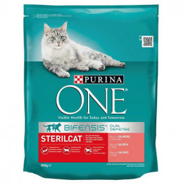 800 Gr Steril Cat with Salmon & Wheat