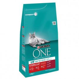 Sterilised Sığır Etli Kısırlaştırılmış Kedi Maması 1,5 Kg