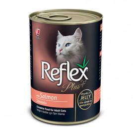Somonlu Jöleli Parçacıklı Kedi Konservesi 400 Gr