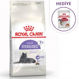 Sterilised +7 Kısırlaştırılmış Kedi Maması 3,5 Kg