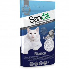 5 Lt Bianca Bentonit Ultra Topaklaşan Doğal Kedi Kumu