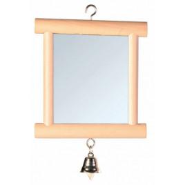 9x10 Cm Ahşap Çerçeveli Zilli Ayna
