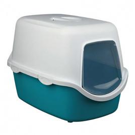 40X40X56 Cm Kapalı Tuvalet Yeşil-Beyaz
