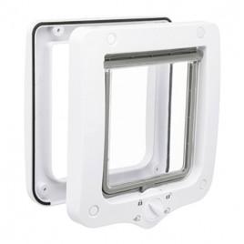 20 x 22 cm Dört Yönlü Kedi Kapısı Beyaz