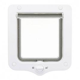 20 x 22 cm Çift Yönlü Beyaz Kedi Kapısı