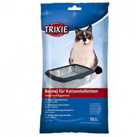 10 Adet Kedi Kumu Torbası M 37x48 Cm