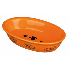 Kedi Porselen Mama Su Kabı 0,2 Lt 15 Cmx10 Cm