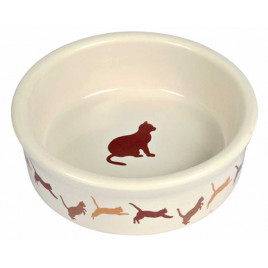 Kedi Porselen Mama Su Kabı 0,25 Lt 11 Cm
