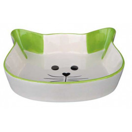 Kedi Seramik Mama Su Kabı, 0,25 Lt 12 Cm