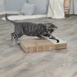 Kedi Tırmalaması, Oyuncaklı, 38X30cm Beyaz