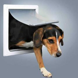 Köpek Kapısı, 2 Yollu, S–M, Beyaz