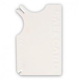 8x5 Cm Kene Temizlik Kartı Beyaz