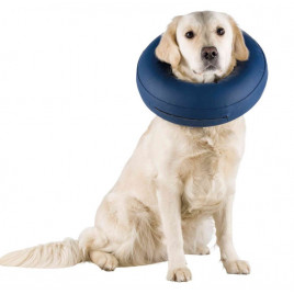 Köpek Koruyucu Şişme Yakalık L-Xl, Mavi