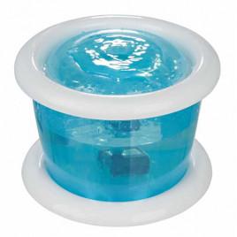 Köpek Otomatik Su Kabı, 3 Lt, Mavi Beyaz