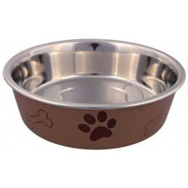 Köpek Paslanmaz Mama Ve Su Kabı 1,4L 21 Cm