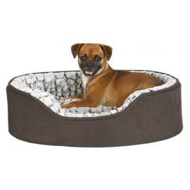 Köpek Yatağı 110x92 Cm Siyah& Gri