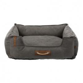 Köpek Yatağı 80x60 Cm Koyu Gri