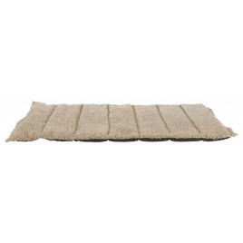 Köpek Yatağı, Katlanabilir İnce 100x65 Cm Koyu Kahve Bej