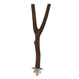 35 Cm Ağaç Dalı Y Tünek 18 Mm