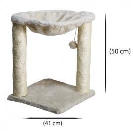 Oturaklı Kedi Tırmalama 41x41x50 Cm